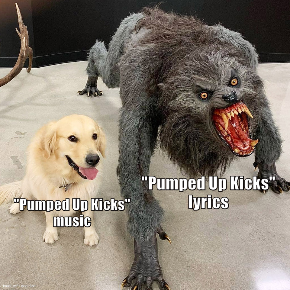 The Many Faces Of Pumped Up Kicks 🎶   Doge Much Wow
